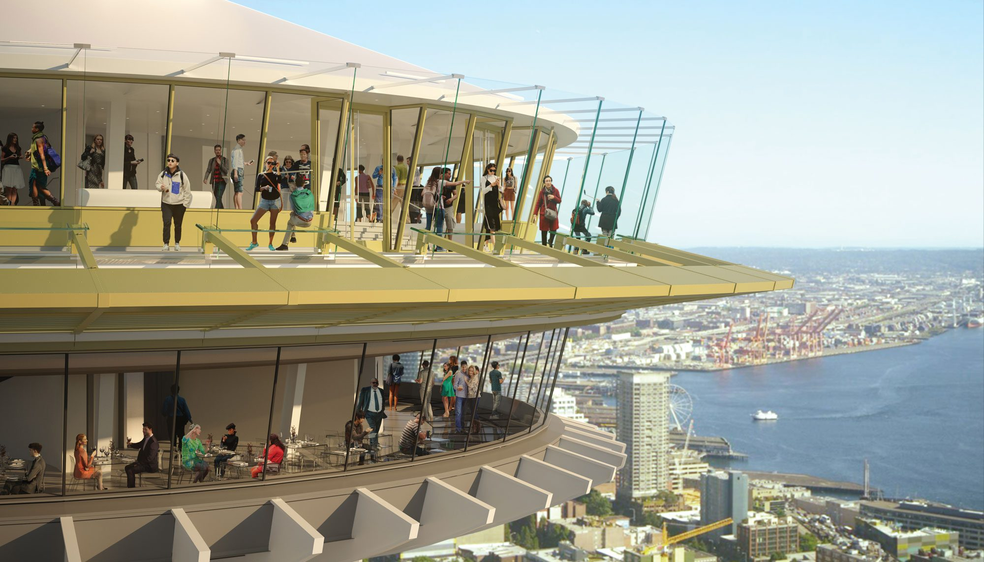 Glass Castle Inside The Epic Space Needle Remodel