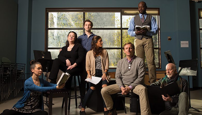 Seattle's The Seagull Project cast at ACT Theater