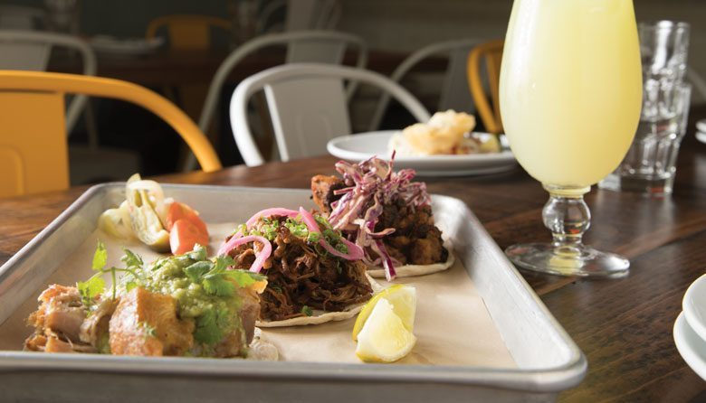 Ethan Stowell's Super Bueno tacos and margarita