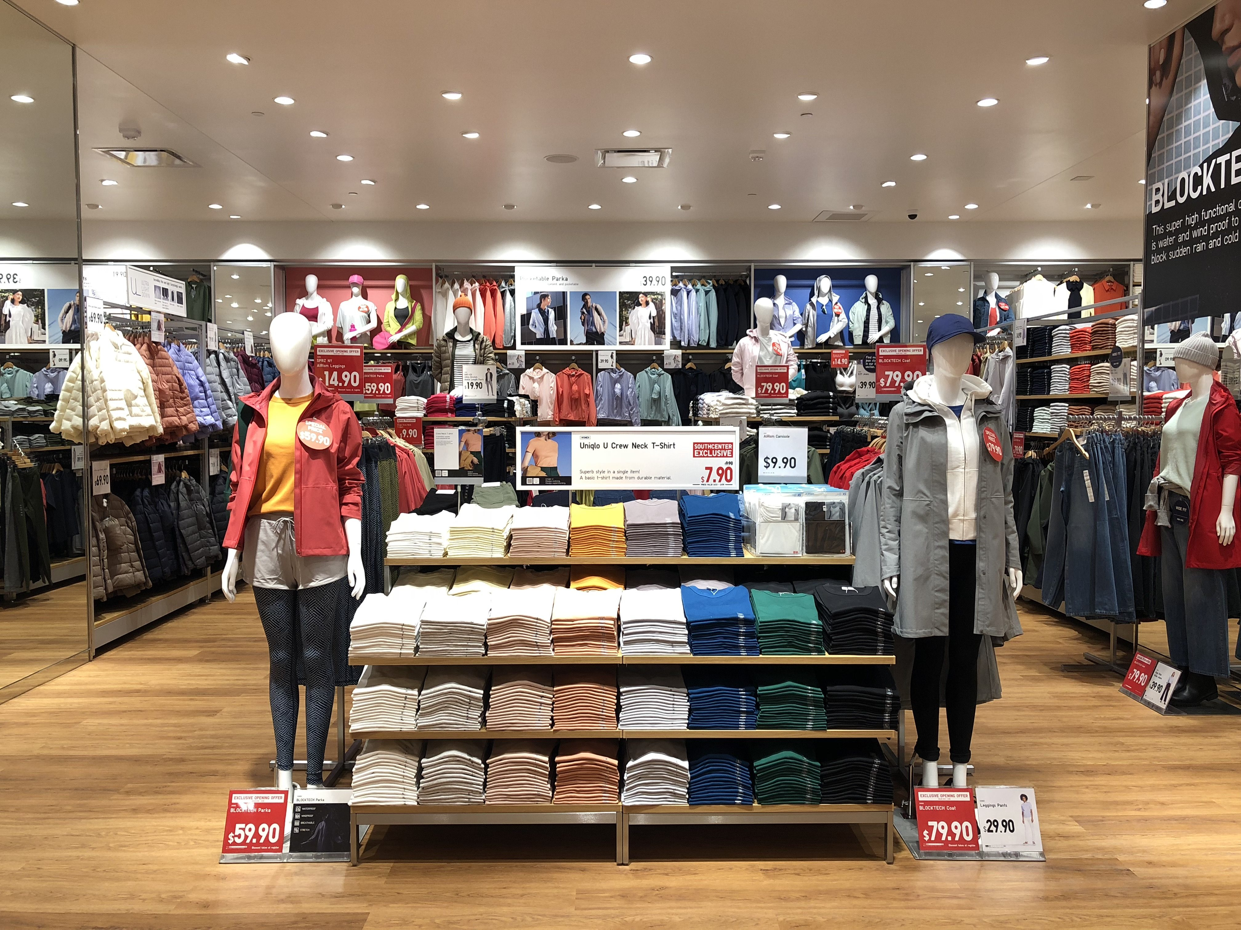 First look inside uniqlos new southcenter store seattle magazine uniqlo is opening its doors to the companys second seattle area store in westfield southcenter today the japanese maker designs wardrobe basics for men stopboris Images