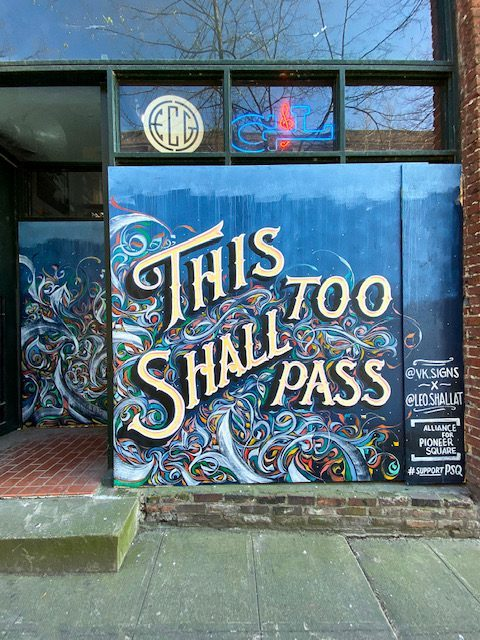 Shallat is a muralist and multi-disciplinary artist based in Seattle, creating works ranging from wall paintings to murals that span entire buildings
