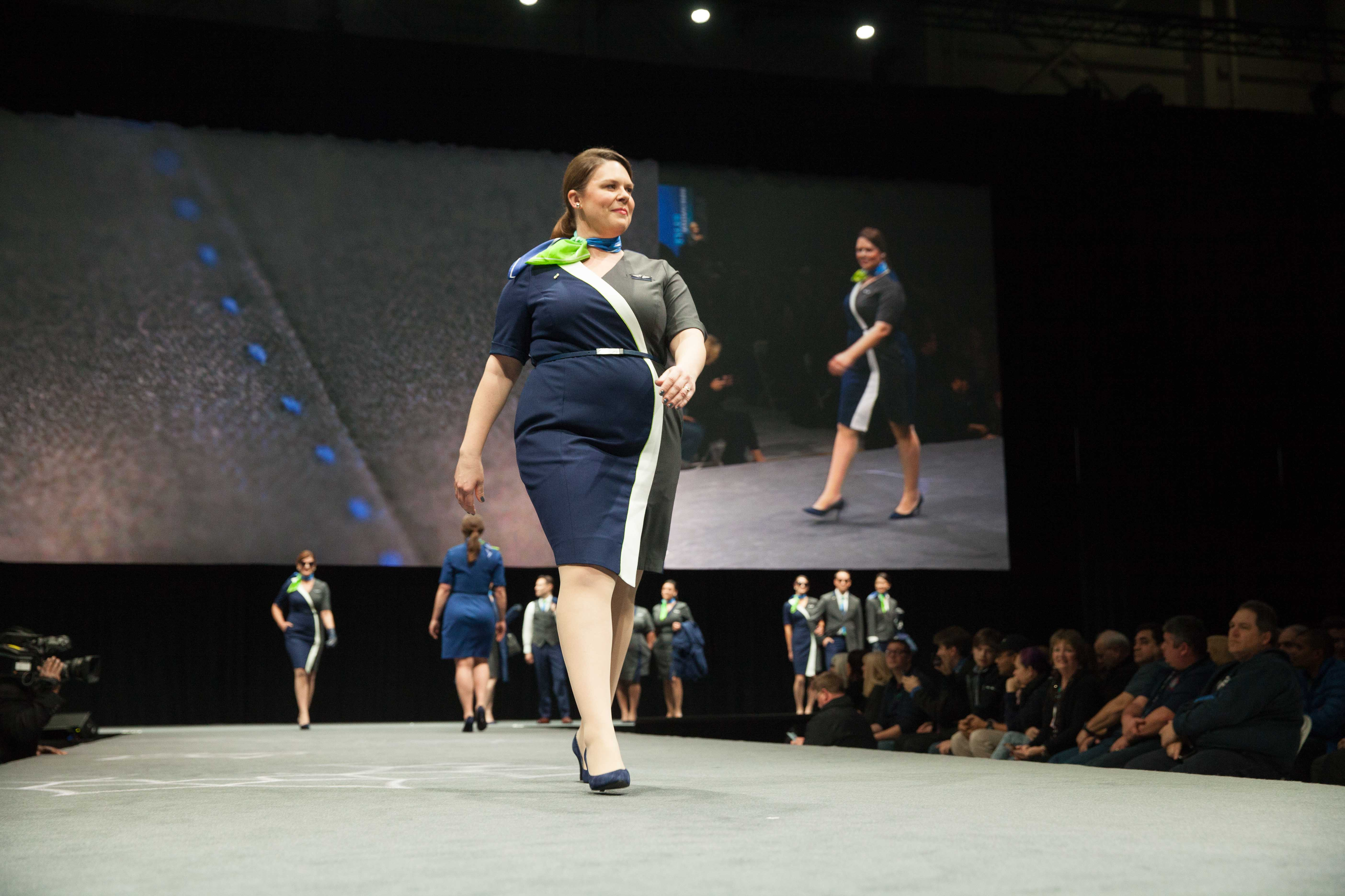 Alaska Airlines New Uniforms By Designer Luly Yang Are