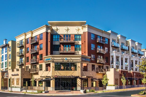 Two New Apartment Buildings Anchor Bellevue's Historic Neighborhood