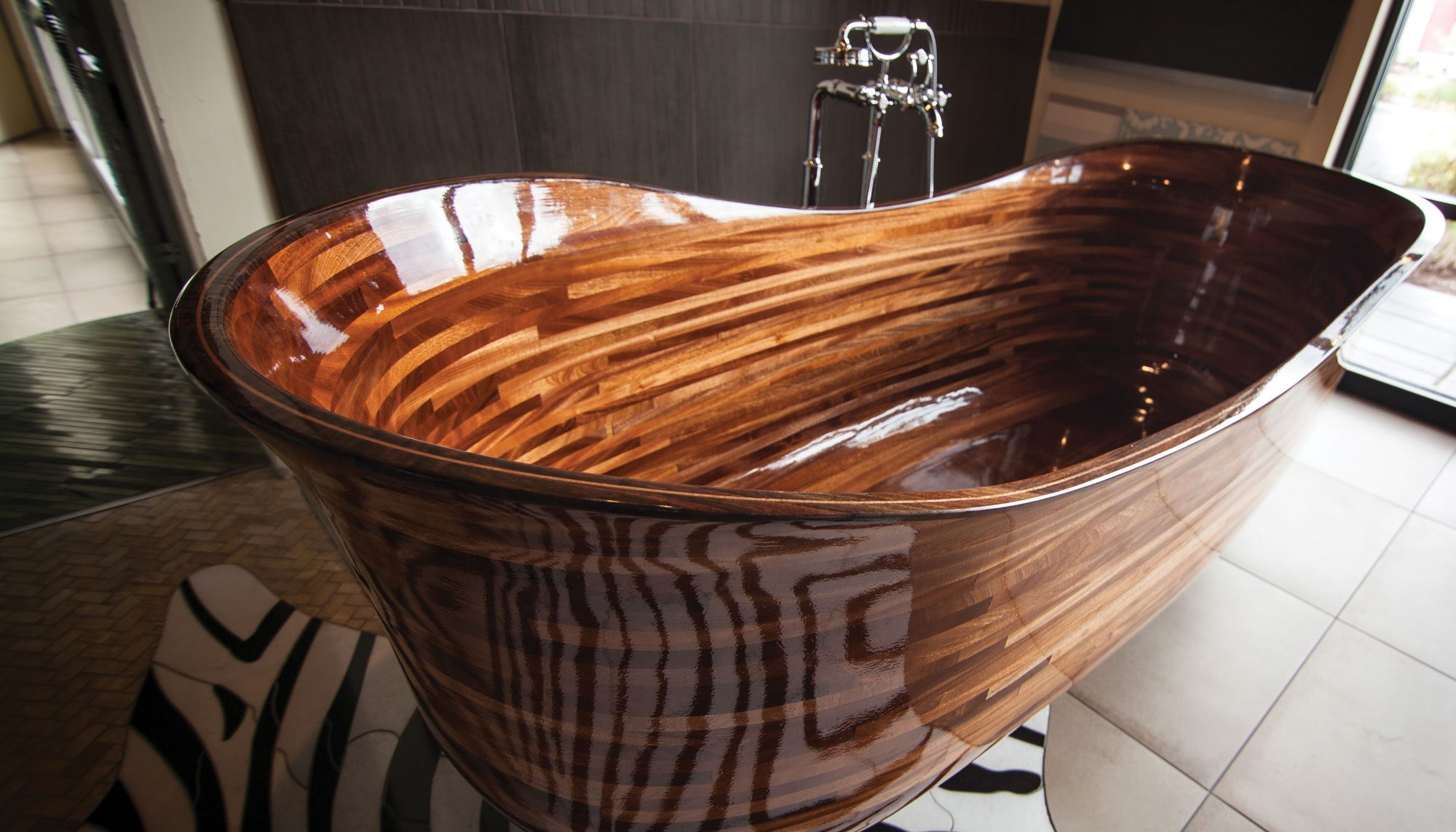 A Seattle Woodworker Is Turning Bathtubs Into Works of Art | Seattle ...