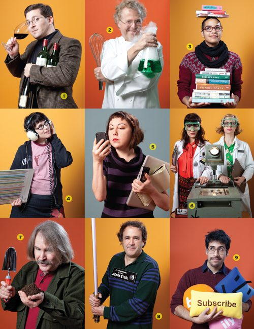 Nine local nerds of note