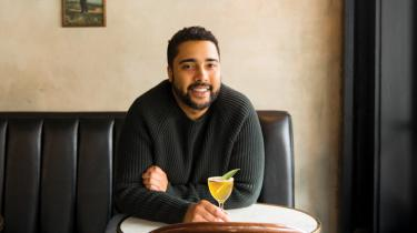 Myles Burroughs originally created his twist on a classic daiquiri as a daily drink special for Queen City