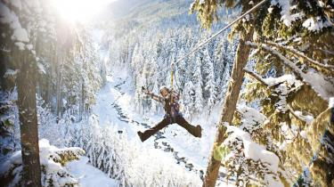 Whistler, British Columbia winter getaway is not all about skiing