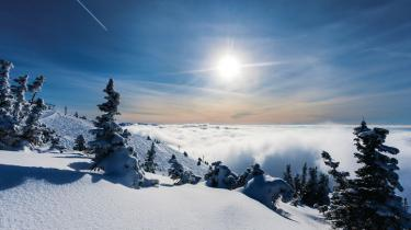 Grand Targhee's slopes and snow