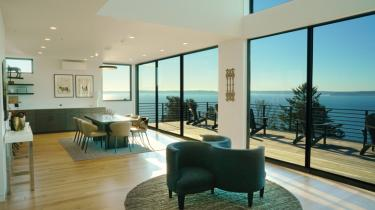 This new West Seattle home offers distracting views of Elliott Bay