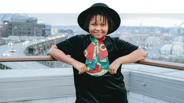 Creations by Jaylin founder, Jaylin Harris is only 10 years old
