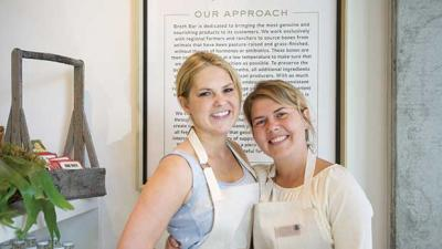 ressa Yellig (right) and her sister Katie have brought their Portland Broth Bar to Olympia