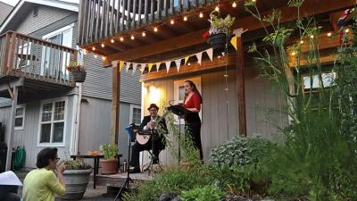 Seattle's Stacey Mastrian sang at Carnegie Hall, the Vatican, and for GroupMuse, on a Queen Anne porch