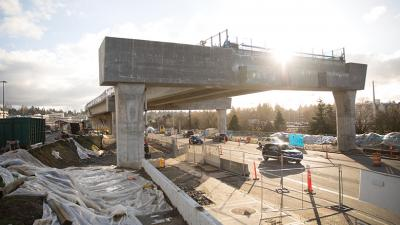 Northgate Link light rail station will open in 2021