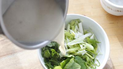 Recover from the holidays with this clean, invigorating soup