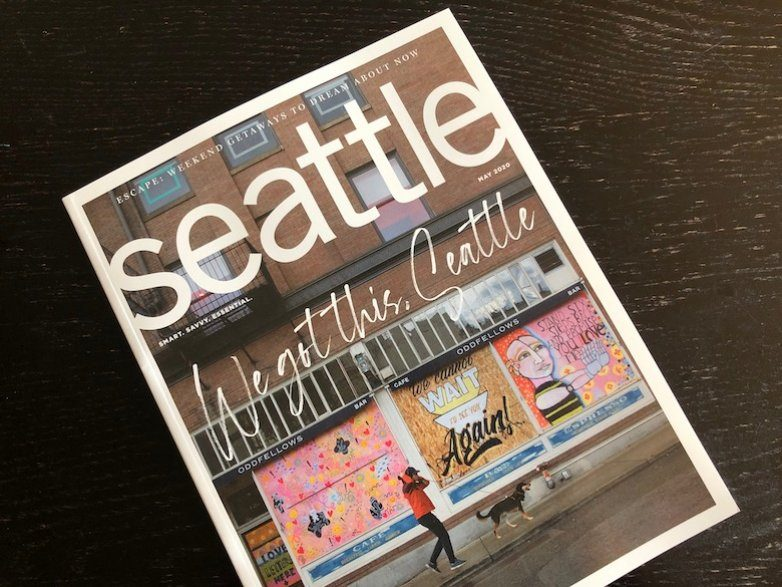 Combo issue with Seattle Business magazine planned for later this summer